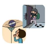 盗難・水漏れ等のリスク
